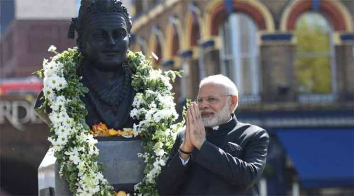 modi in london, modi woo lingayat