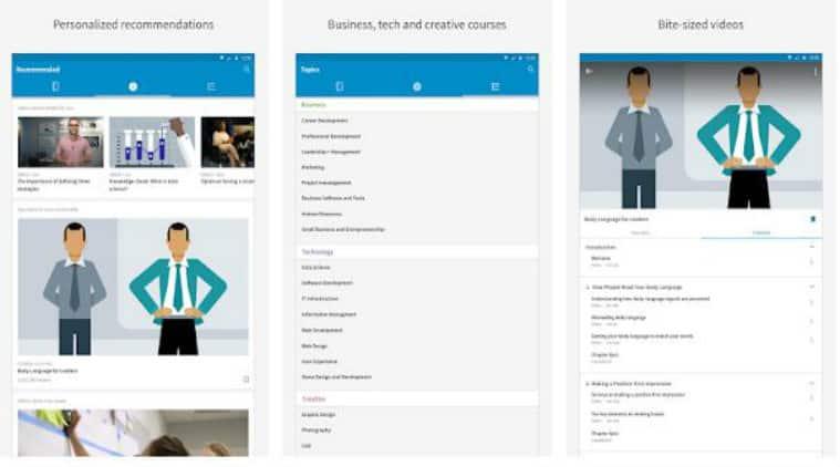 تطبيق LinkedIn Learning -تطبيقات التعليم
