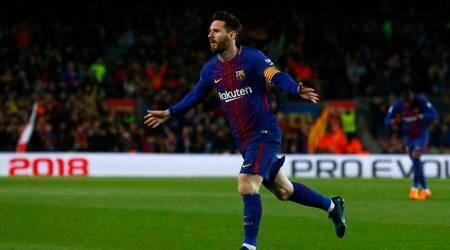 Lionel Messi bags hat-trick as Barcelona equal La Liga unbeaten record
