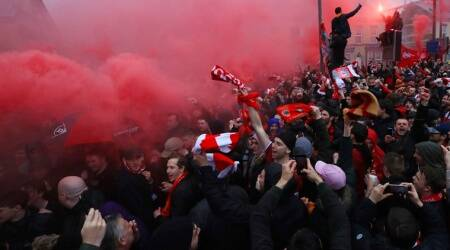 Police arrest two on suspicion of attempted murder before Liverpool-Roma game