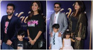 Vidya Balan, Shilpa Shetty and Ayushmann Khurrana attend Aladdin premiere