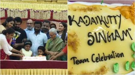 Karthi, Sayyeshaa and Priya Bhavani Shankar wrap up Kadaikutty Singam