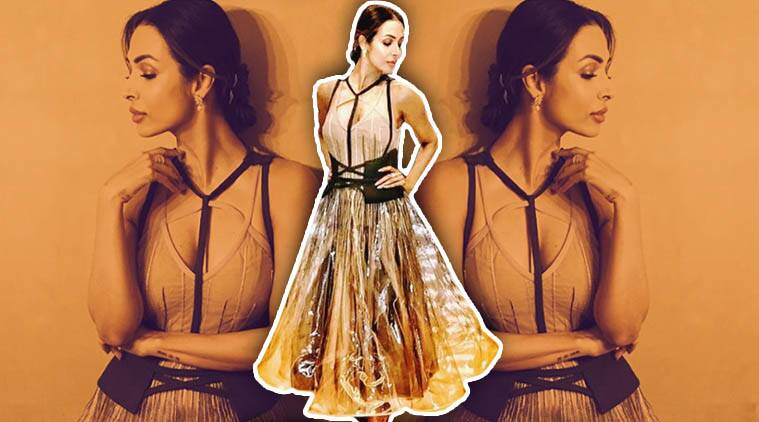 Malaika Arora, plastic fashion trend, Malaika Arora fashion, Malaika Arora style, Malaika Arora latest news, Malaika Arora latest photos, Malaika Arora pictures, Malaika Arora images, Malaika Arora updates, celeb fashion, bollywood fashion, indian express, indian express news