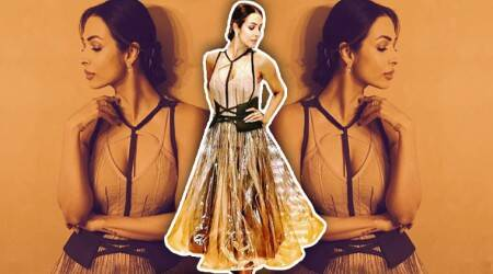 Malaika Arora turns up in a plastic skirt and it's more than we can handle; see pics
