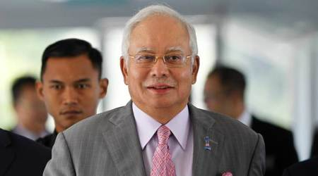 Malaysia's former PM Najib Razak charged with three counts of money laundering