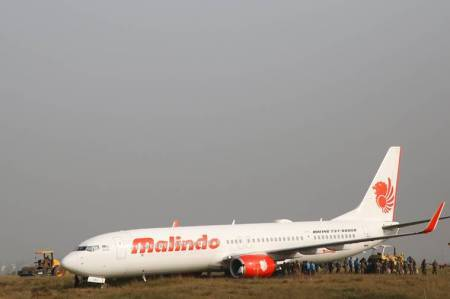 Malaysian plane skids off runway in Nepal; close shave for 139 on board