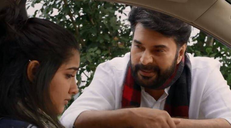 mammootty shares his film Uncle teaser