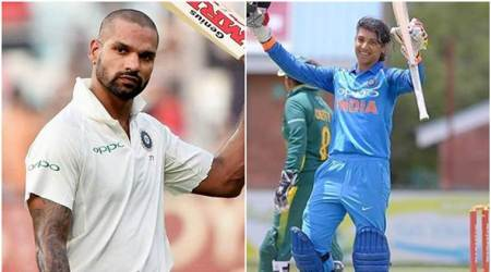 Cricketers Shikhar Dhawan, Smriti Mandhana recommended for Arjuna awards