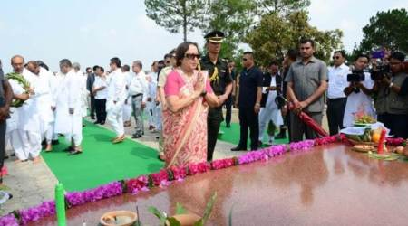 Tributes paid to martyrs of 1891 Anglo-ManipurWar