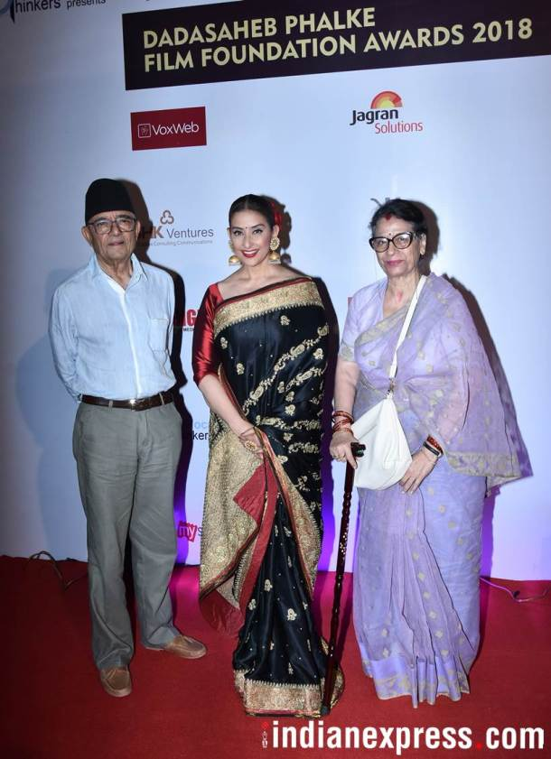 Manisha Koirala family