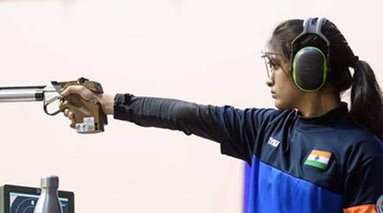 Manu Bhaker shooter