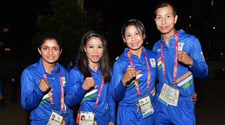 CWG 2018 India Boxing Highlights: Mary Kom, three others confirm medals; Sarita, Pinki bow out