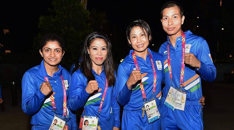 cwg live boxing india