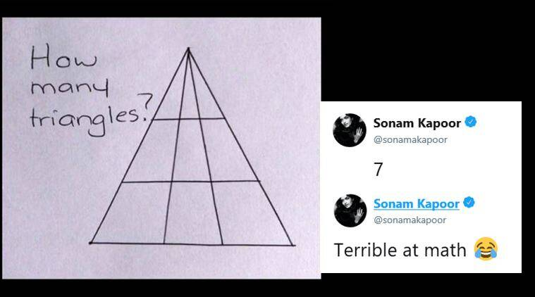 When Sonam Kapoor and other Bollywood celebs failed to solve a math