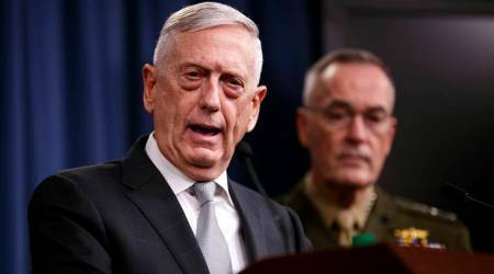"""Jim Mattis says US troop commitment to South Korea is """"ironclad"""""""