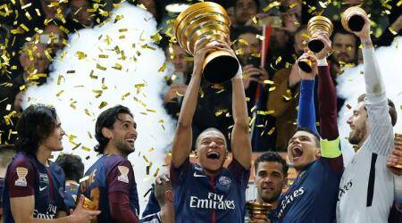 Kylian Mbappe shines as PSG beat Monaco for fifth straight League Cup