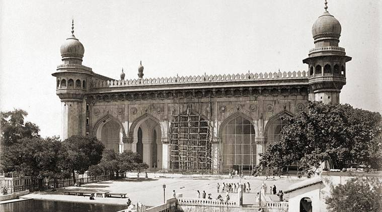 Mecca Masjid, Mecca Masjid bomb case, What is the Mecca masjid blast case, Hyderabad, Mecca masjid news, Hyderabad news, Indian Express