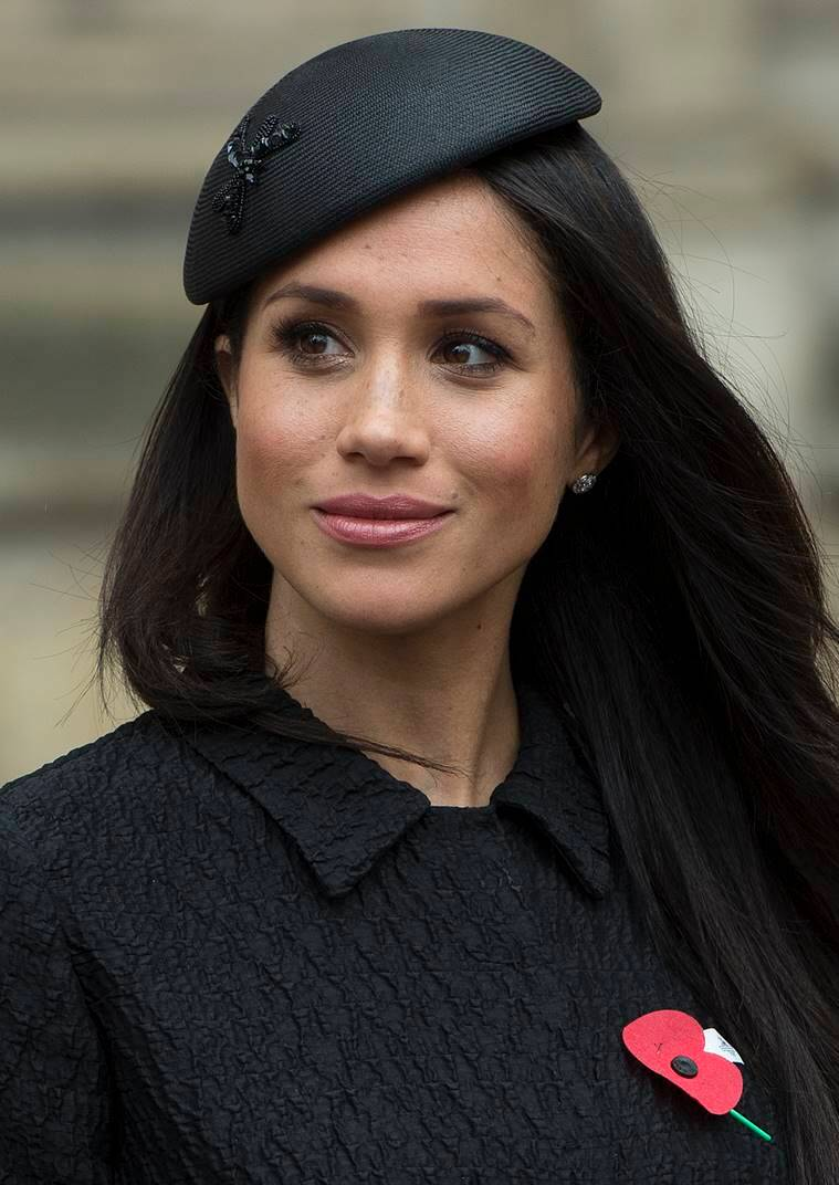 b7f64706616 From cute beanies to fascinators  Stunning headgears Meghan Markle ...
