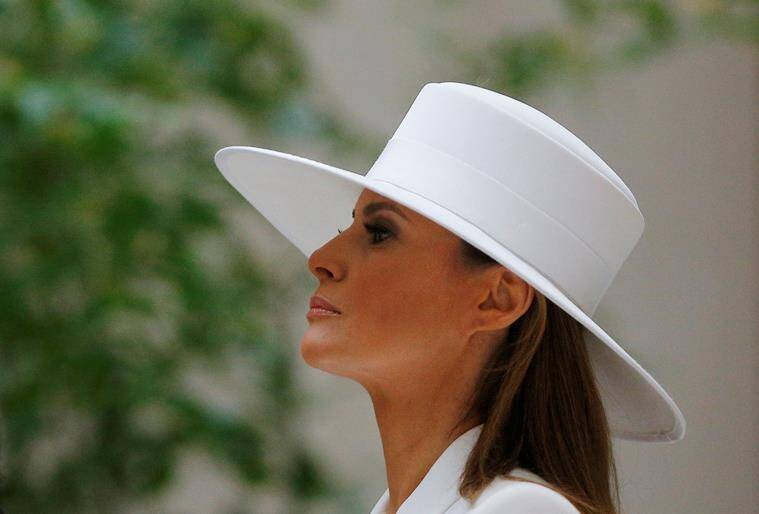 22ceaa7546c US First lady Melania Trump steps into spotlight for state visit ...