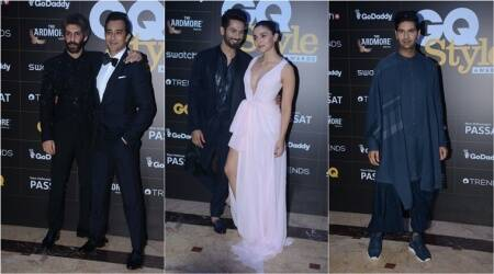 alia bhatt, shahid kapoor, rahul khanna, gq style aWards 2018, men's fashion, jim sarbh, androgynous fashion, Indian Express, Indian Express News