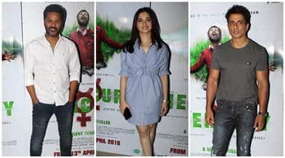 Mercury special screening Prabhudheva, Tamannaah Bhatia, Sonu Sood
