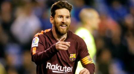 Lionel Messi hat-trick hands Barcelona 25th La Liga title