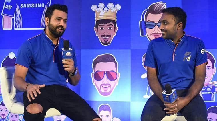 Rohit Sharma, Mahela Jayawardene, Mumbai Indians, IPL 2018, Indian Premier League, DRS, sports news, cricket, Indian Express