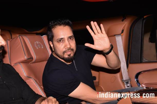 mika singh at october screening