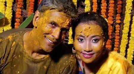 Milind Soman-Ankita Konwar wedding: Here's how the bride and groom celebrated