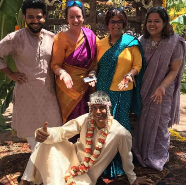 Milind Soman weds Ankita Konwar
