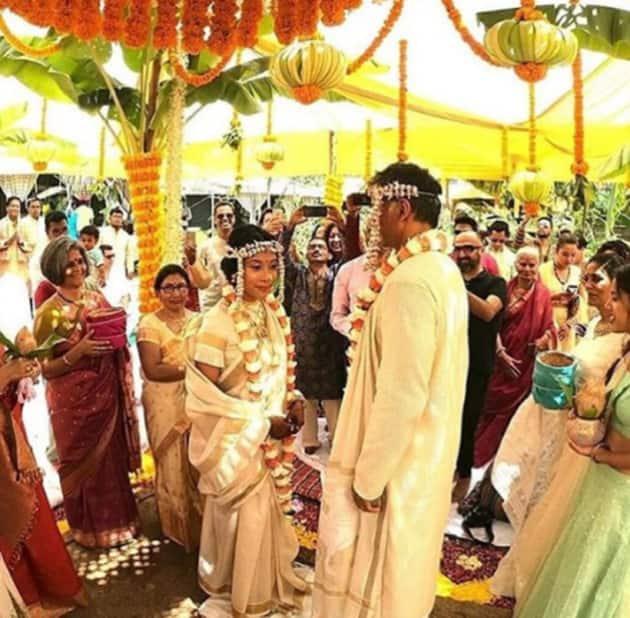 Milind Soman wedding photos