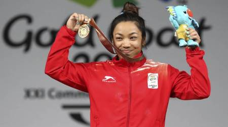 Mirabai Chanu, Mirabai Chanu India, India Mirabai Chanu, Mirabai Chanu record, Commonwealth Games 2018, CWG 2018, sports news, Indian Express