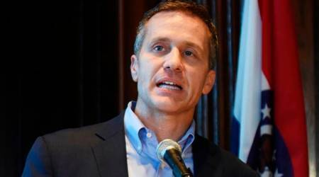 Missouri governor Eric Greitens mirrors Donald Trump in quest to survivescandal