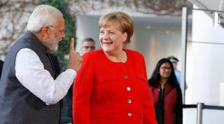 PM Modi holds talks with German Chancellor Merkel on bilateral, global issues