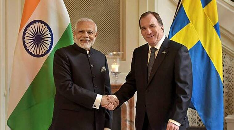 Sweden astrong supporter of 'Make in India' from the very beginning: PM Modi