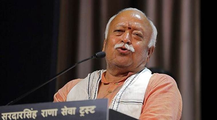 RSS chief in US: Hindus don't unite… wild dogs can hunt a lion