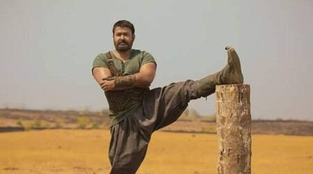 This picture of Mohanlal from the sets of Kayamkulam Kochunni will leave youamazed