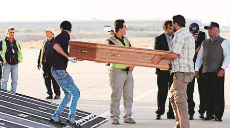 Indians killed in Iraq: Aircraft carrying 38 bodies reaches India