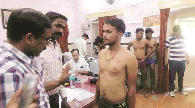 The Dhar incident triggered a controversy after the candidates from the reserved categories were stamped with their caste identification on their bare chests during the three-day medical examination process at the Dhar district hospital.