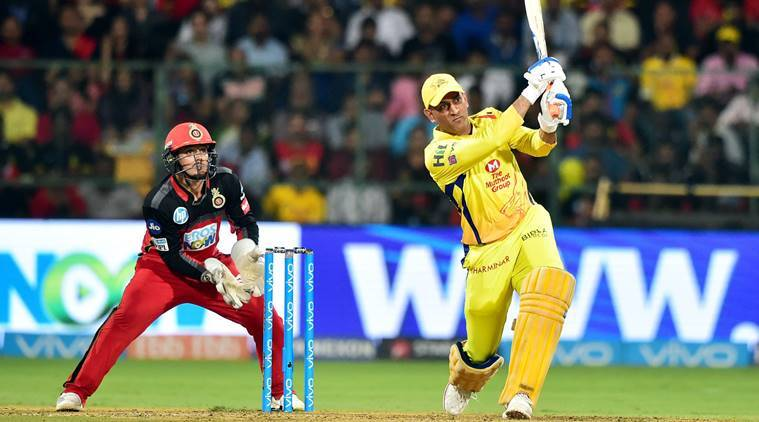 IPL 2018 Live CSK vs RCB :CSK wins by 5 wickeis