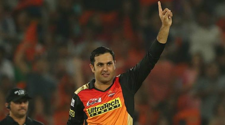Mohammad Nabi, Mohammad Nabi Sunrisers Hyderabad, Mohammad Nabi SRH, Indian premier league, IPL 2018, sports news, cricket, Indian Express