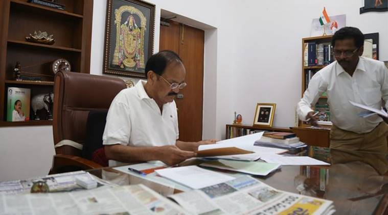Venkaiah Naidu rejects notice to impeach CJI Dipak Misra