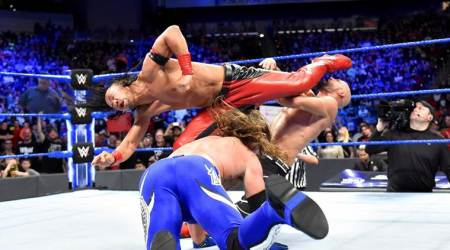 WWE SmackDown Results: Even The Club can't stop Shinsuke Nakamura terrorising AJ Styles
