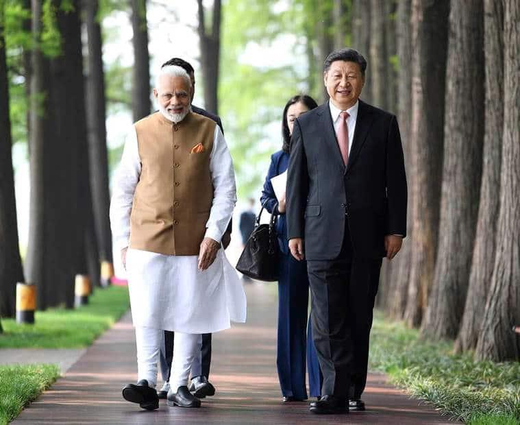 narendra modi, xi jinping, india-china relations, pm modi, pm modi in china, pm modi wuhan, indo-china ties, china, doklam row, india news, indian express