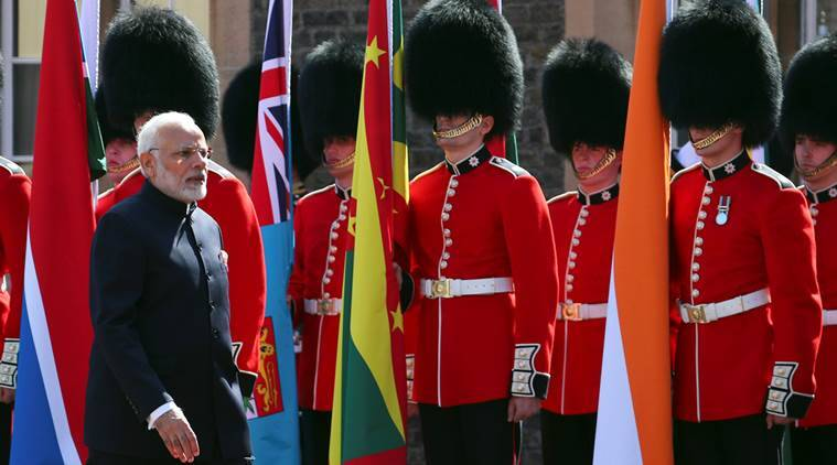 Pm Modi holds bilateral talks with several world leaders on CHOGM sidelines