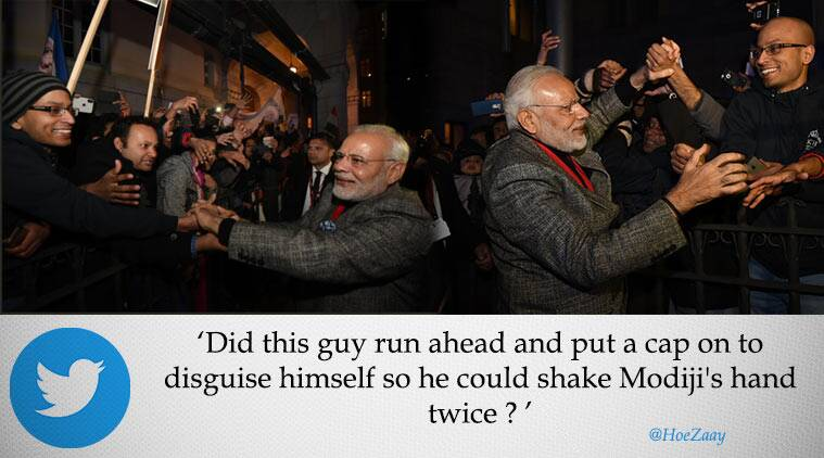 PM Modi, Narendra Modi, UK, Sweden, India-sweden, India-UK, India news, narendra modi same man, twitter reactions, indian express, indian express news