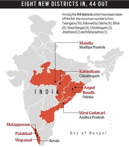 The contours of the new Red map | Explained News, The Indian Express