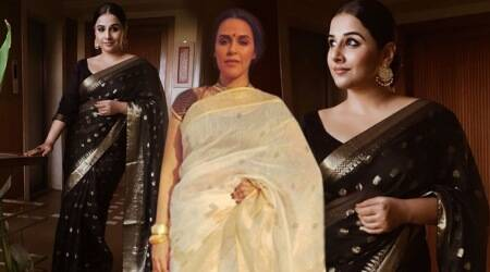Vidya Balan, Neha Dhupia keep their ethnic game strong in gorgeous saris