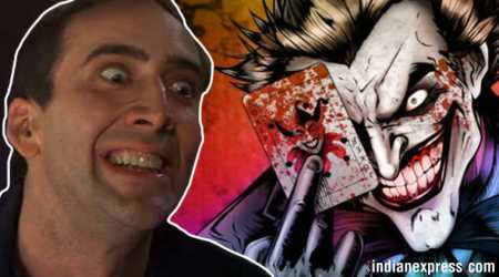 I'd make a great Joker or a good villain in one of the Marvel movies: Nicolas Cage