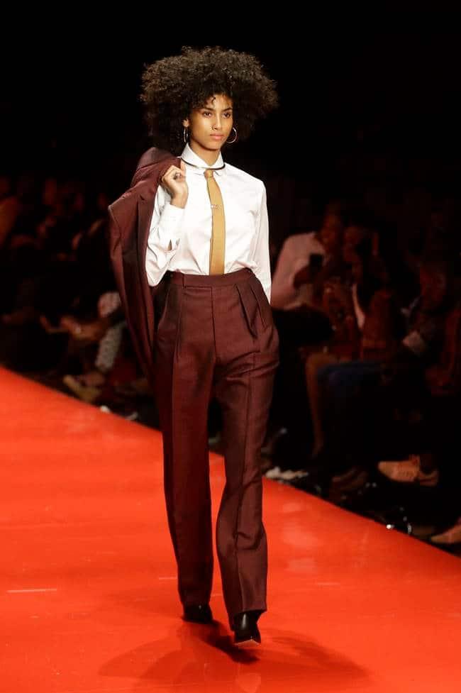 Nigeria fashion week, latest fashion week, Naomi Campbell, Nigeria fashion week, Naomi Campbell, Divas Abaya designs, Laurence Airline, Andrea Lyamah, indian express, indian express news